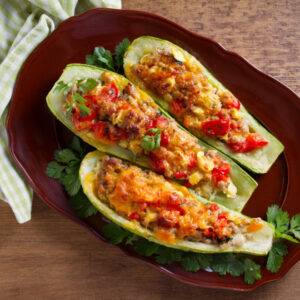 Astuces courgettes farcies