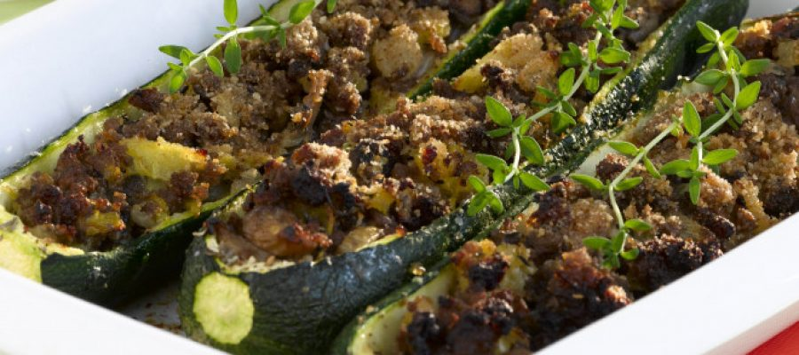 Courgettes farcies faciles